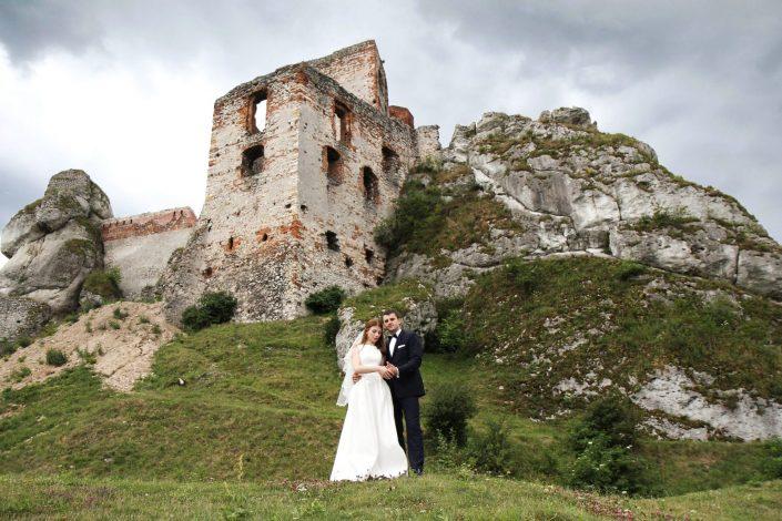 Para młoda i Zamek w Olsztynie