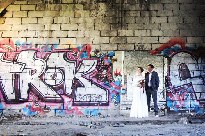 Grafitti i para młoda