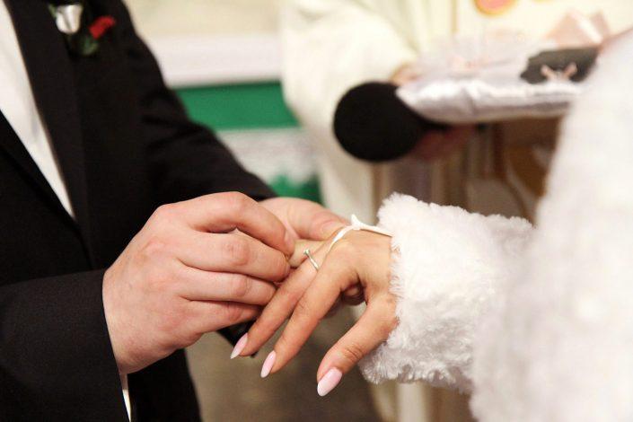 Ceremonia ślubna i obrączki